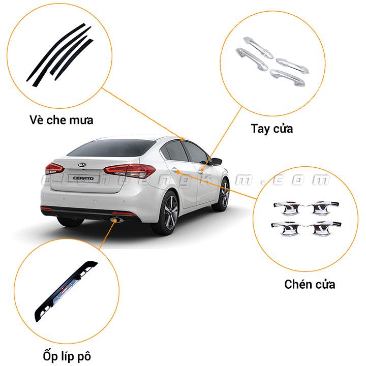 17 phụ kiện xe Kia Cerato [2019-2020]