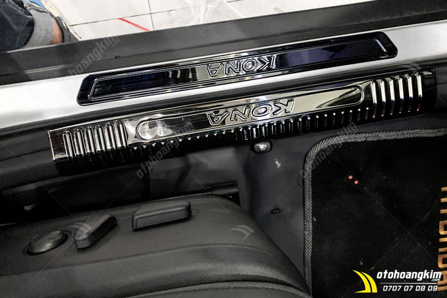 Nẹp Bước Chân Hyundai Kona Inox