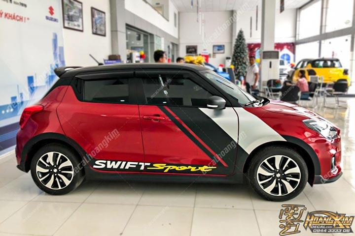 TEM XE SUZUKI SWIFT -SSW003