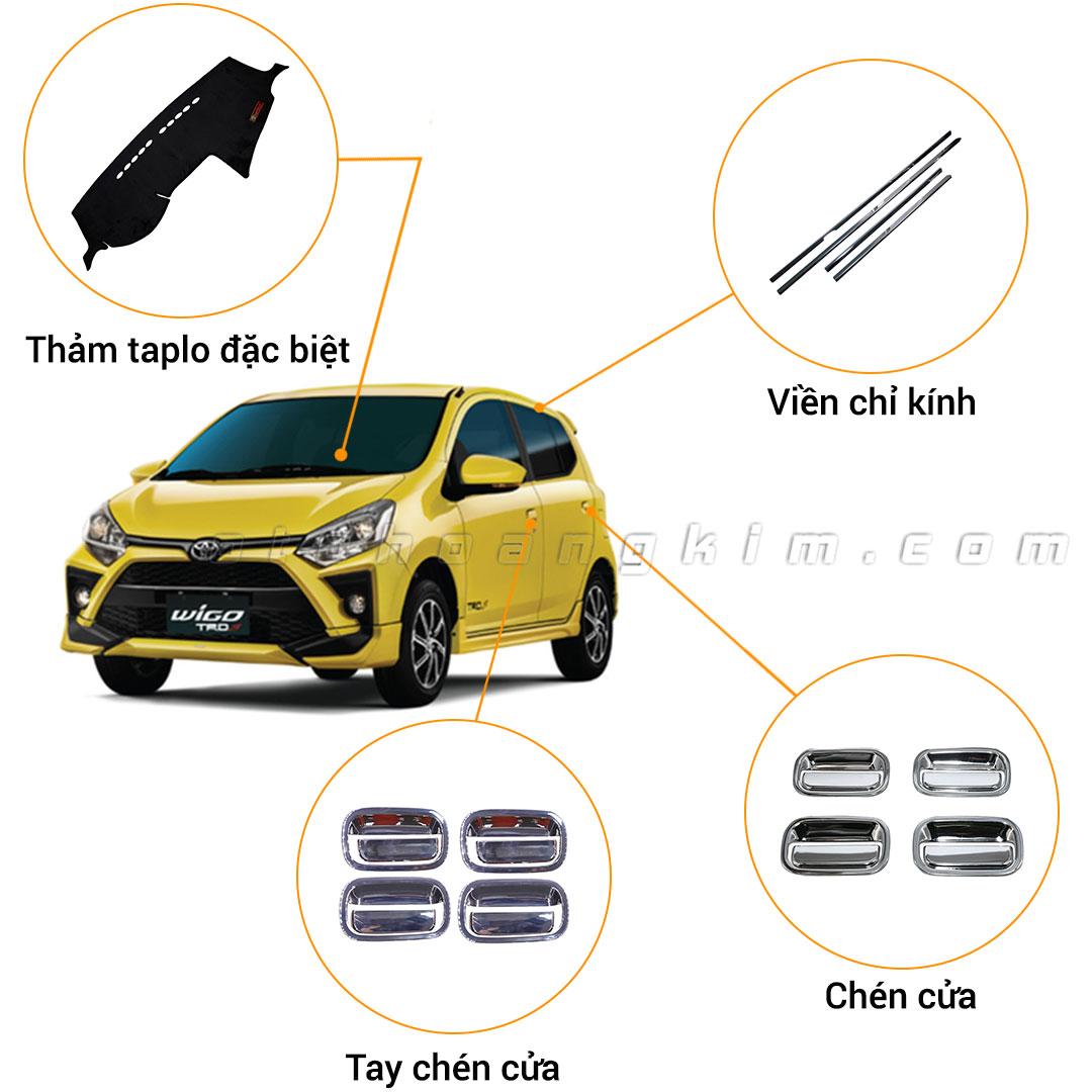 13 phụ kiện Toyota Wigo [2018-2020]