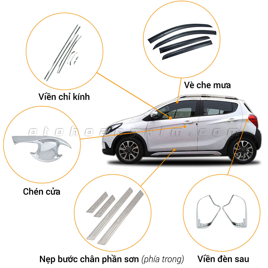 15 phụ kiện xe Vinfast Fadil [2019 - 2020]