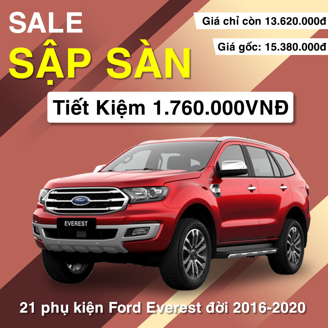 21 phụ kiện xe Ford Everest [2016-2020]
