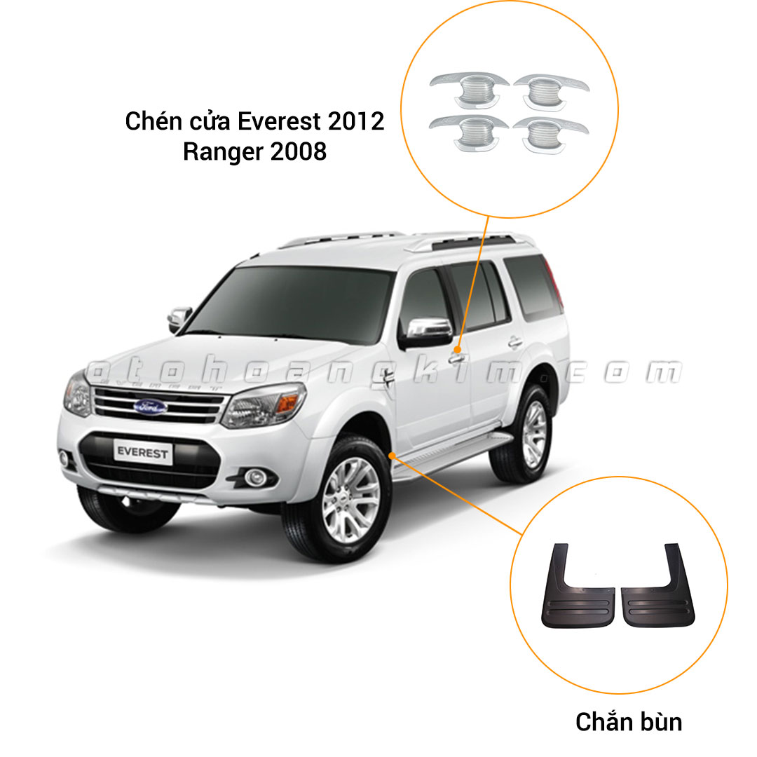 6 phụ kiện xe Ford Everest [2005-2015]