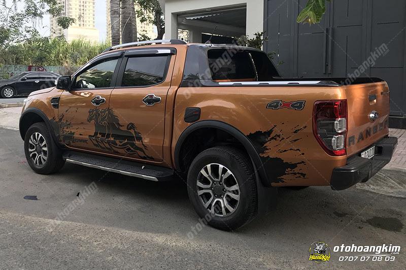 sản phẩm Bệ bước ngoài Ford Ranger