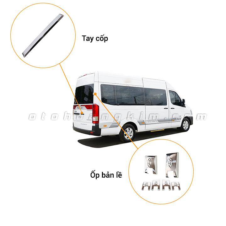 8 phụ kiện xe Hyundai Solati [2018-2020]