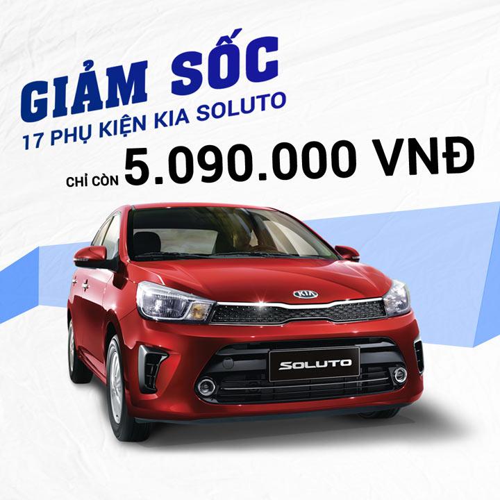 17 phụ kiện xe Kia Soluto [2019-2020]