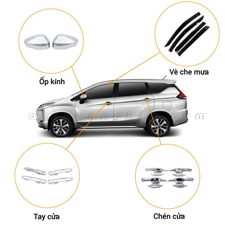 26 phụ kiện xe Mitsubishi Xpander [2018-2020]