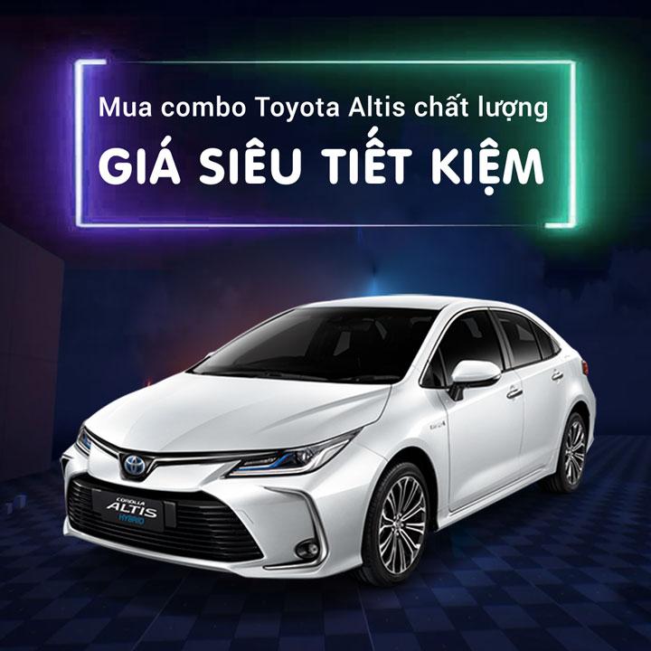 17 phụ kiện Toyota Altis [2014-2019]