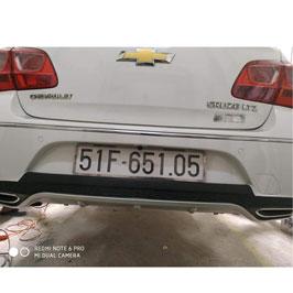 Lip Chia Pô Chevrolet Cruze Mẫu Merc