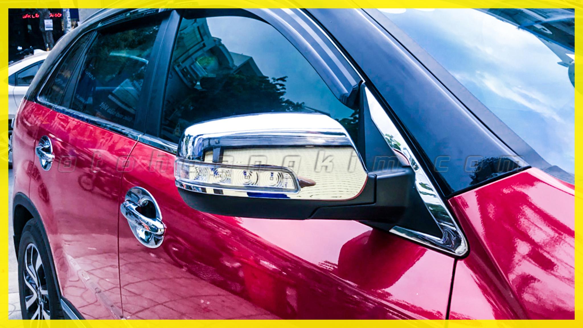 Quy trình lắp đặt ốp gương chiếu hậu ô tô đơn giản nhất