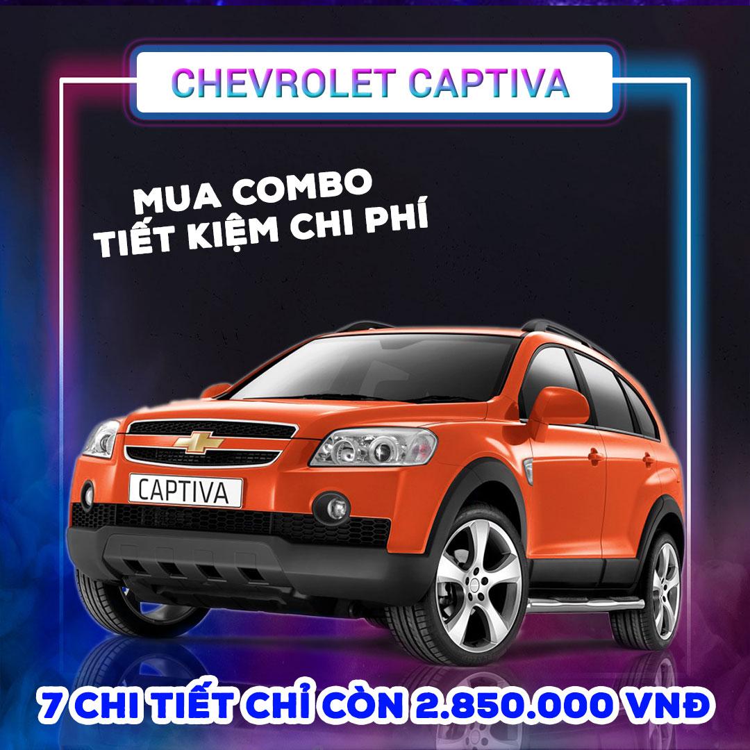 7 phụ kiện Chevrolet Captiva [2007-2019]