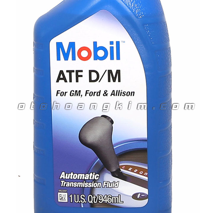 sản phẩm Dung dịch bảo dưỡng Mobil ATF D/M for GM, Ford & Allison nhớt hộp số 946ml