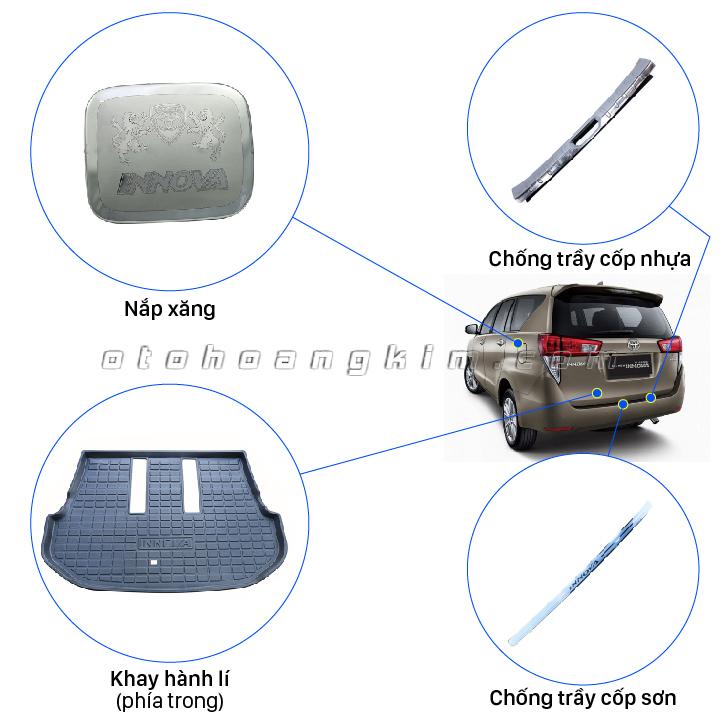 sản phẩm 8 phụ kiện Innova [2006-2015]