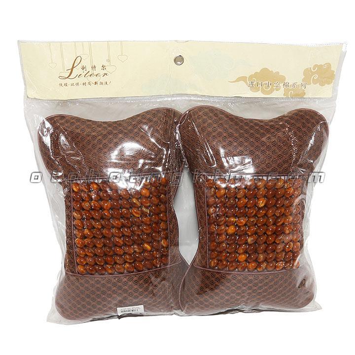 sản phẩm Gối cổ GC06 hạt nâu