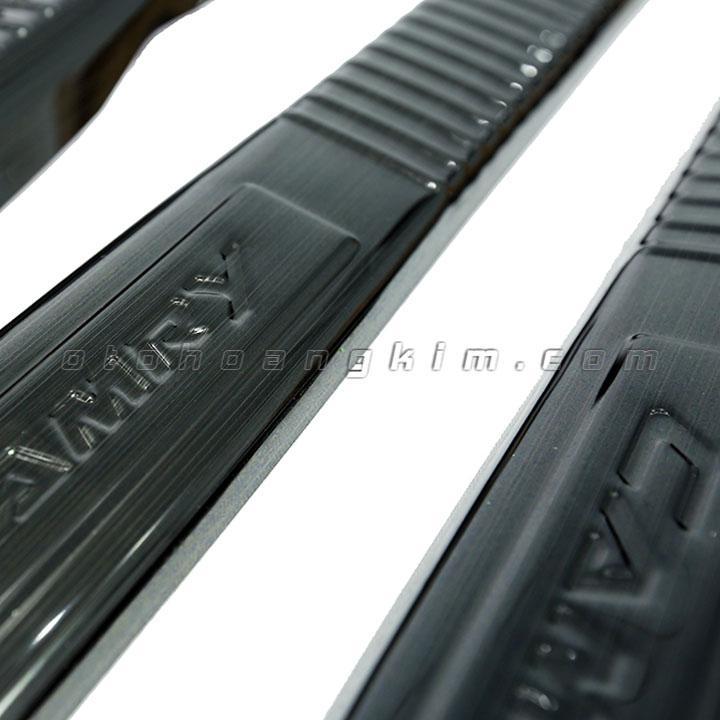 sản phẩm Bệ bước phần nhựa Camry  [ 2017 - 2019] titan