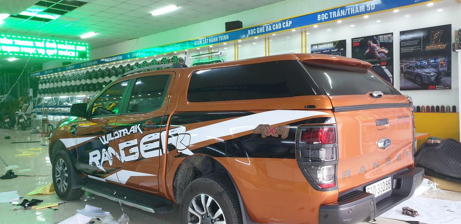 Độ xe bán tải Ford Ranger uy tín, chất lượng tại Tp. HCM