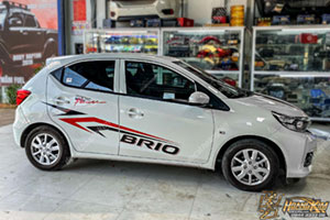 TEM XE HONDA BRIO - HBR002