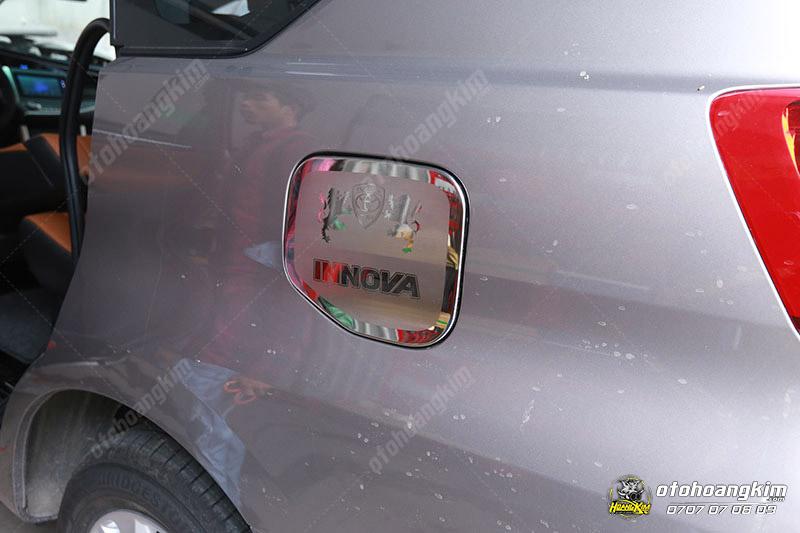 Nắp xăng Innova [2017 - 2020] inox