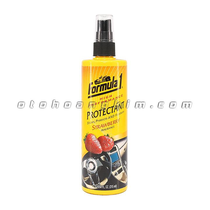 sản phẩm Dung dịch bảo dưỡng Formula 1 Protectant Strawberry xịt khử mùi 315ml