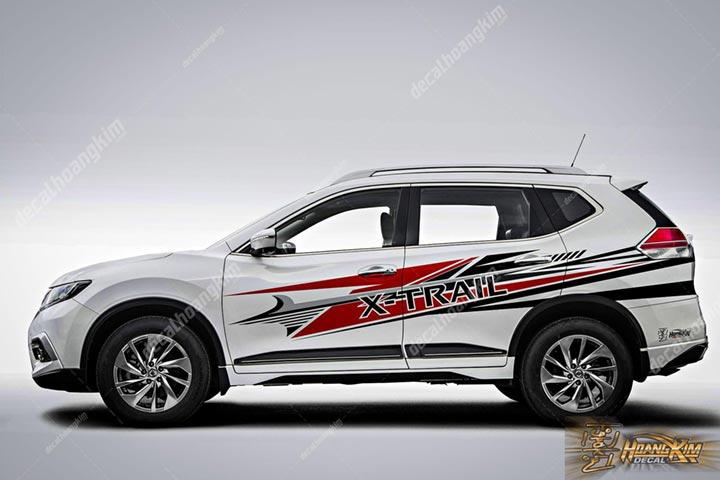 TEM XE NISSAN X-TRAIL - NXT003