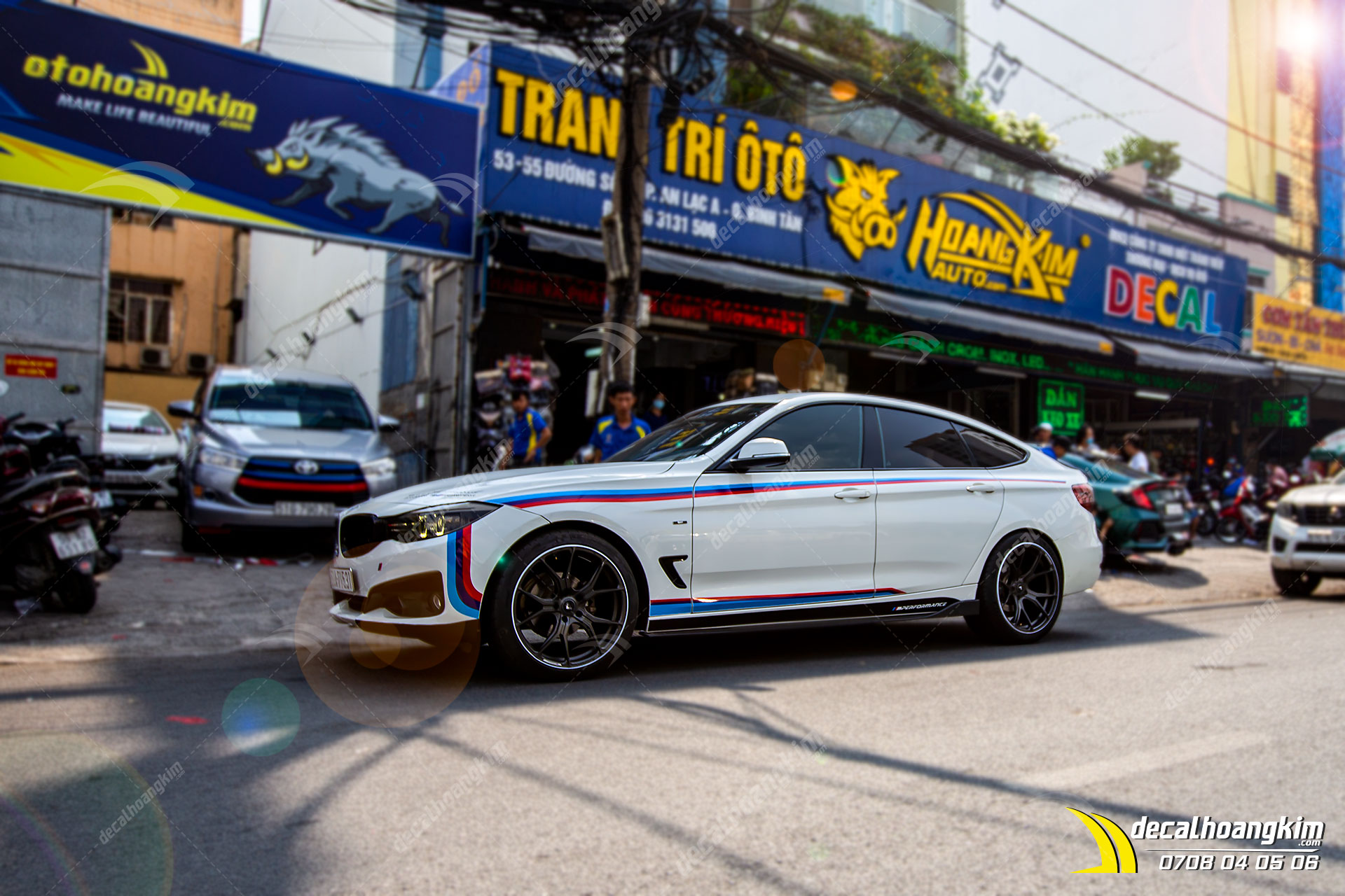 Tem Xe BMW 3 Series GT - BMW015