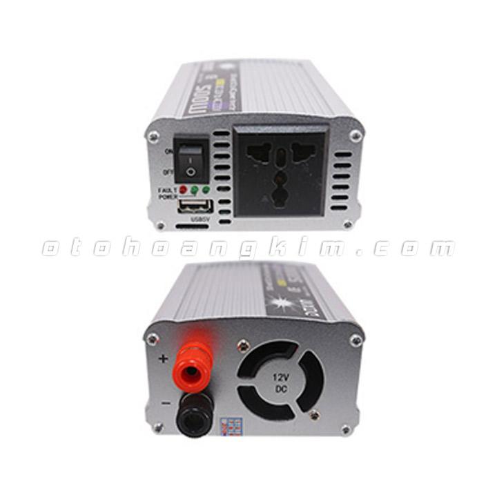 Cục chuyển nguồn 12V to 220V 500W