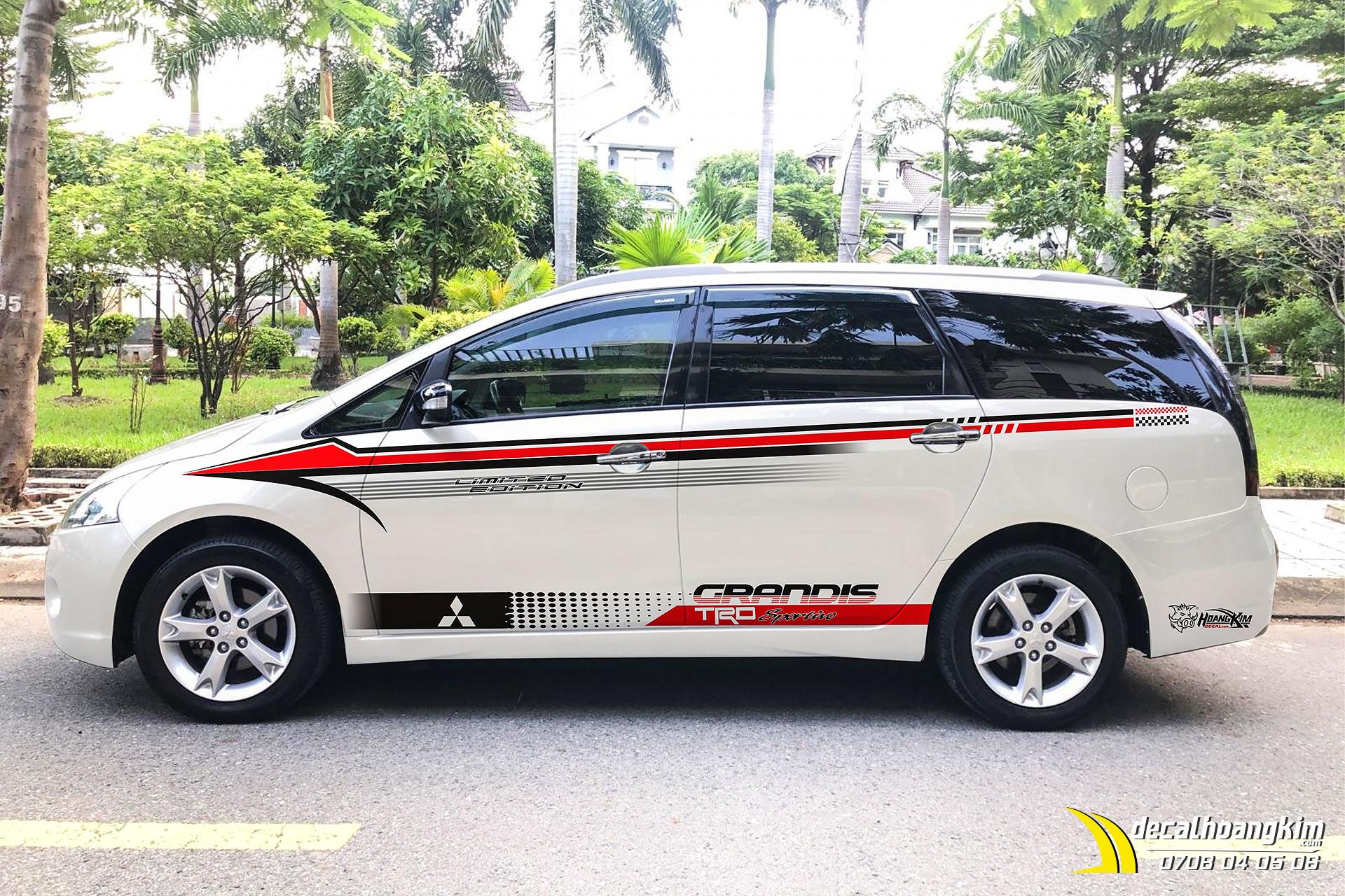 Tem Xe Mitsubishi Grandis - MGR005