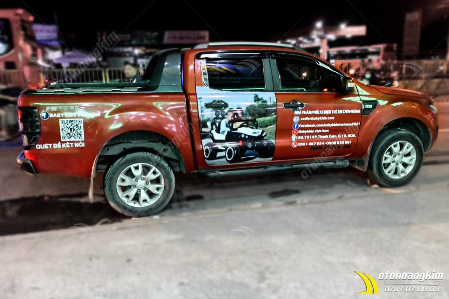 Tem Quảng Cáo Ford Ranger