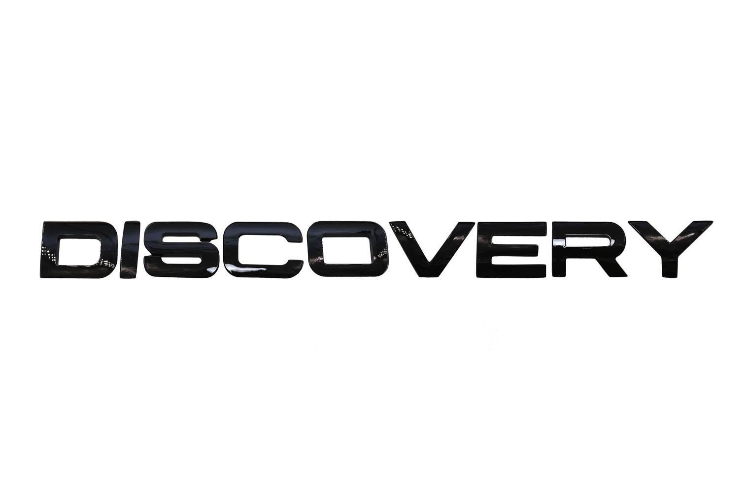Chữ nổi Discovery đen
