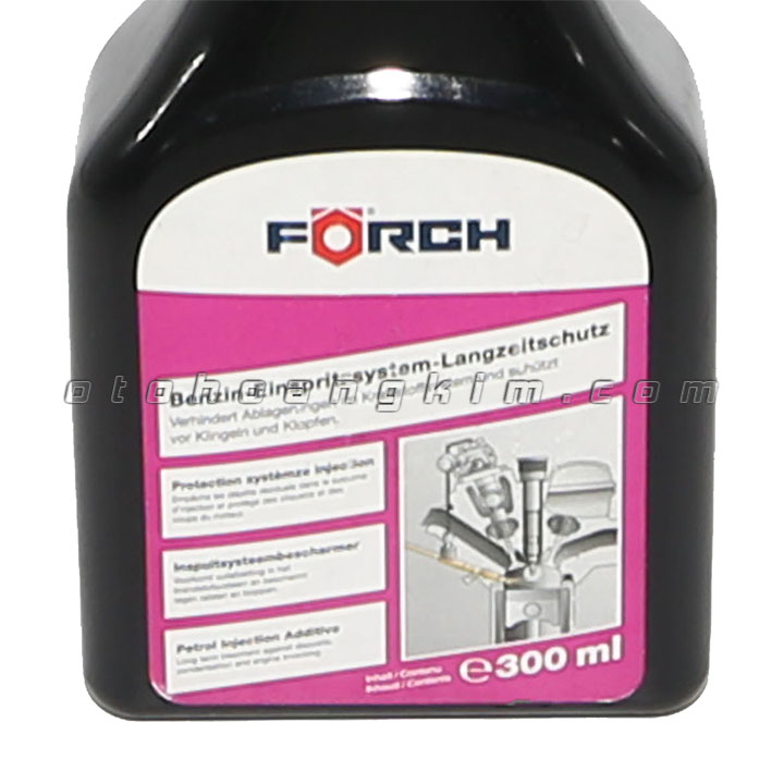 Dung dịch vệ sinh Forch Benzin-Einsprit System-langzeltschutz súc rửa hệ thống phun xăng