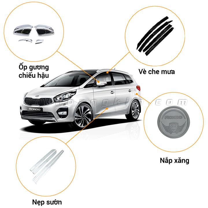 11 phụ kiện xe Kia Rondo [2017-2020]