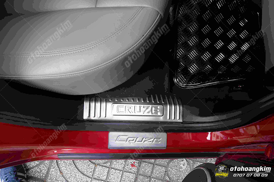 sản phẩm Bệ bước phần nhựa Chevrolet Cruze  [dùng chung]