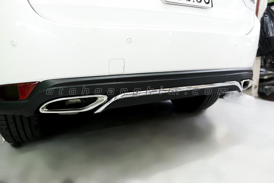 Pô bản dẹt vẫn là lựa chọn được yêu thích khi độ pô ô tô Mazda CX5