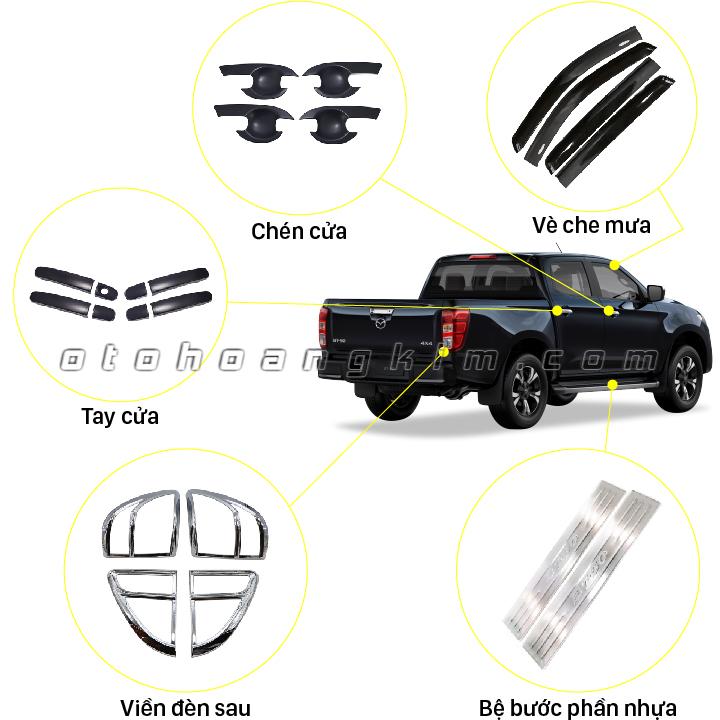 sản phẩm 10 Phụ kiện xe bán tải BT50 [2015-2020]