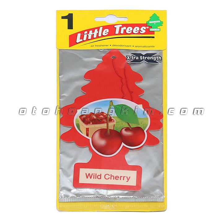 sản phẩm Lá thơm Little Trees Wild Cherry lớn