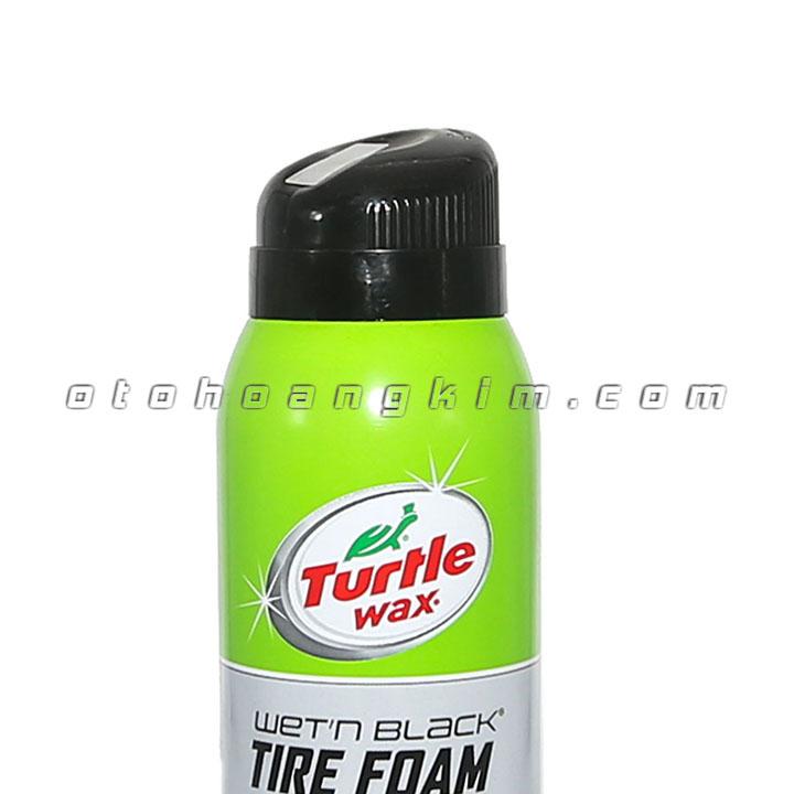 Dung dịch bảo dưỡng Turtle Wax Tire Foam xịt bóng vỏ xe 510g