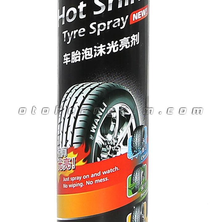 Dung dịch bảo dưỡng Ufu Hot Shine Tyre Spray làm bóng vỏ 720ml