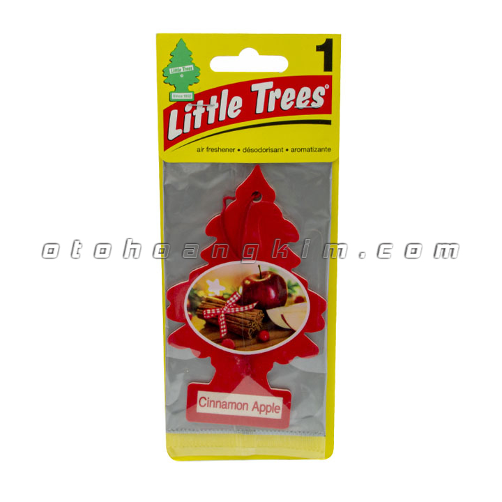 sản phẩm Lá thơm Little Trees Cinnamon Apple