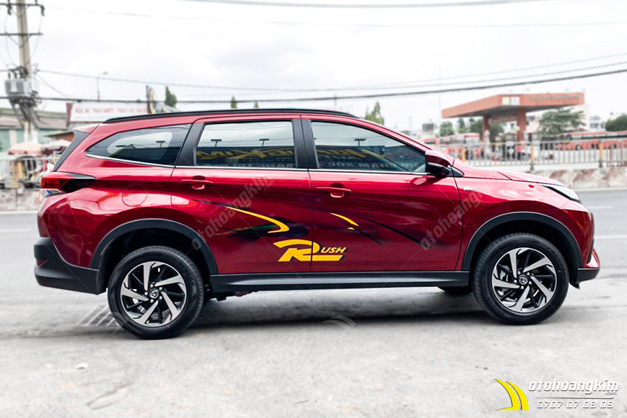 Tem Xe Toyota Rush - TRU014