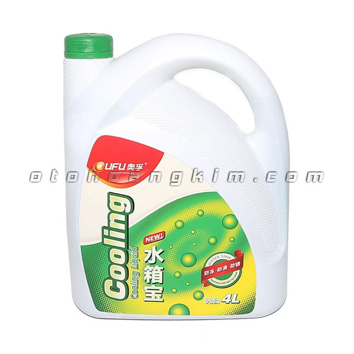 sản phẩm Dung dịch bảo dưỡng Ufu Coolant giải nhiệt 4 lít xanh
