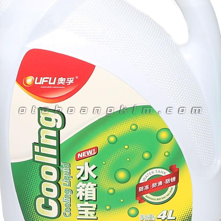 Dung dịch bảo dưỡng Ufu Coolant giải nhiệt 4 lít xanh