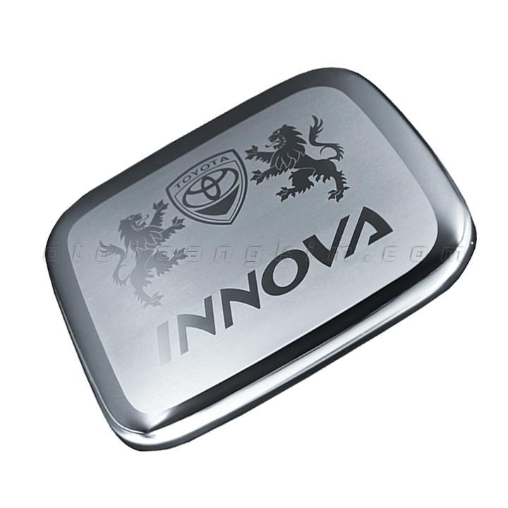 Nắp xăng Innova [2006 - 2015] inox
