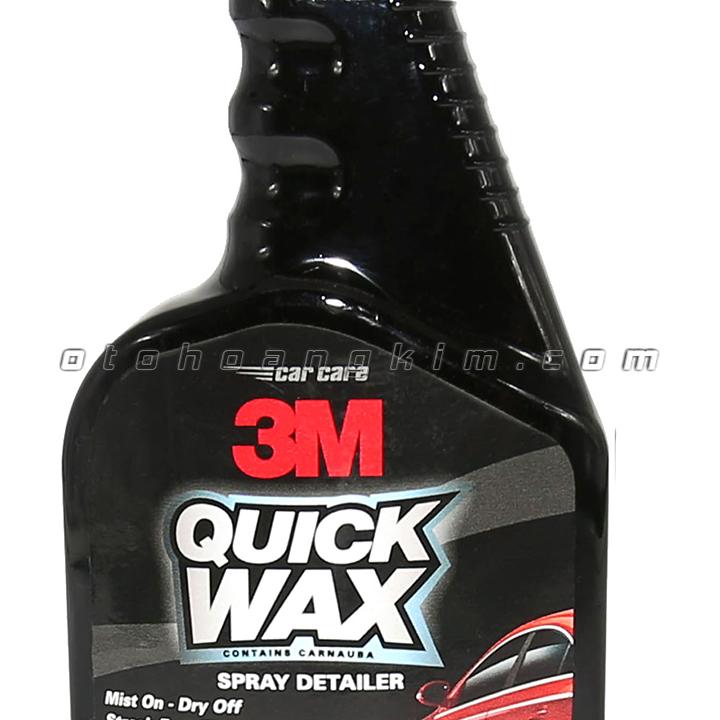 Dung dịch bảo dưỡng 3M Quick Wax xịt bóng sơn 473ml