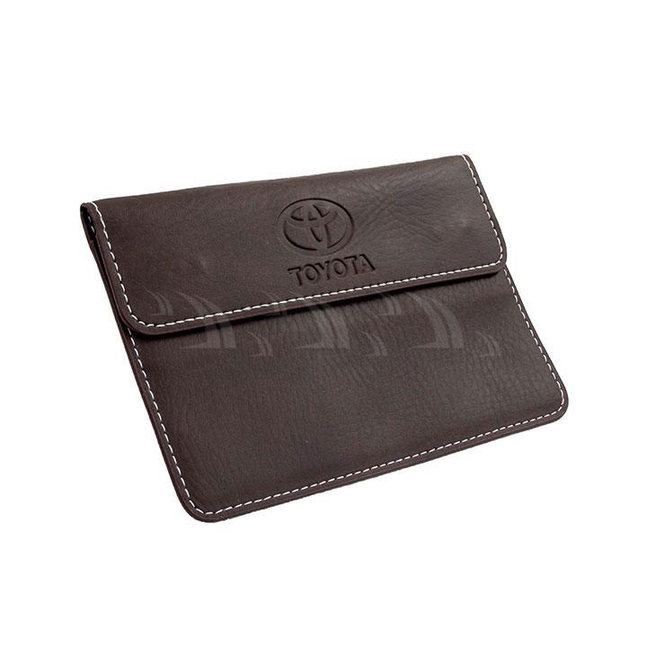 Bóp da nhỏ đựng giấy tờ Toyota