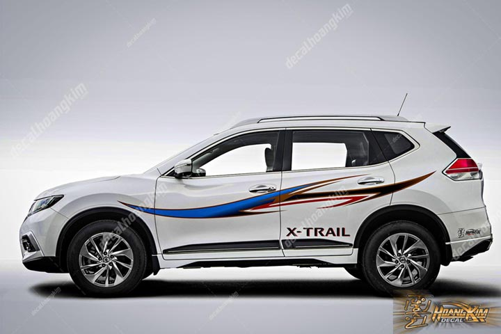 TEM XE NISSAN X-TRAIL - NXT009