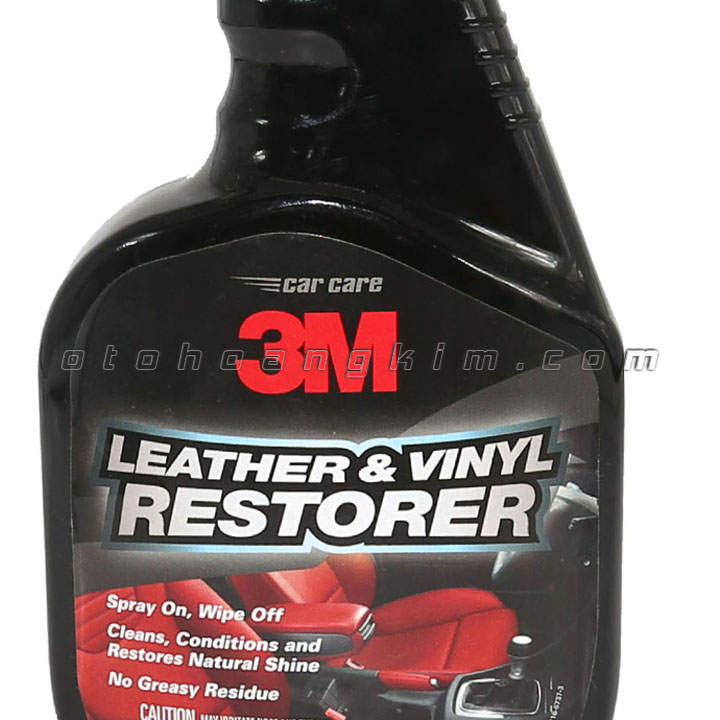 Dung dịch bảo dưỡng 3M Leather & Vinyl Restorer xịt dưỡng da 473 ml