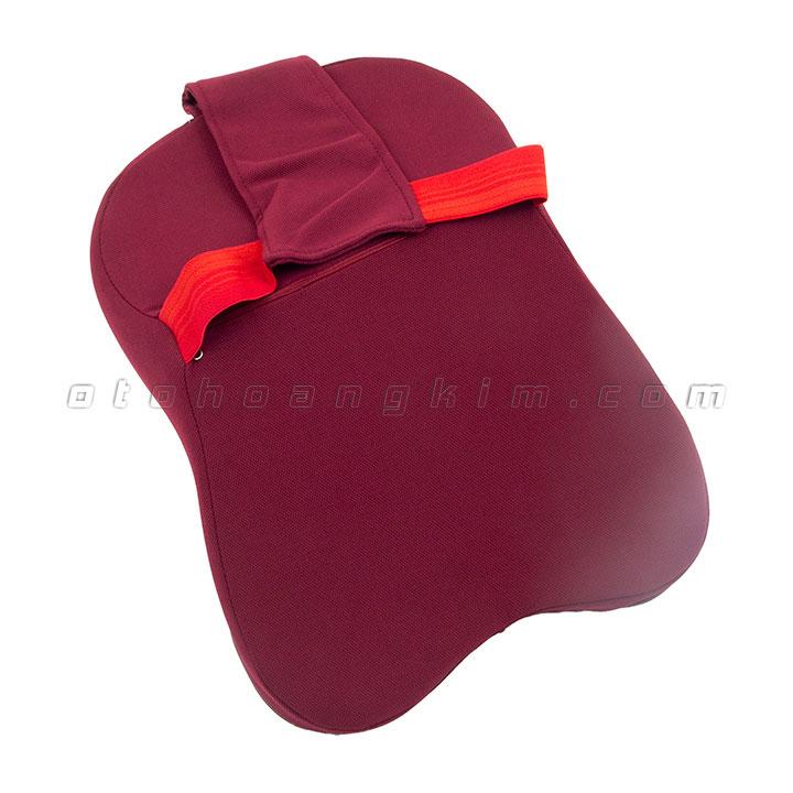 Gối cổ GC08 cao su non lớn đỏ
