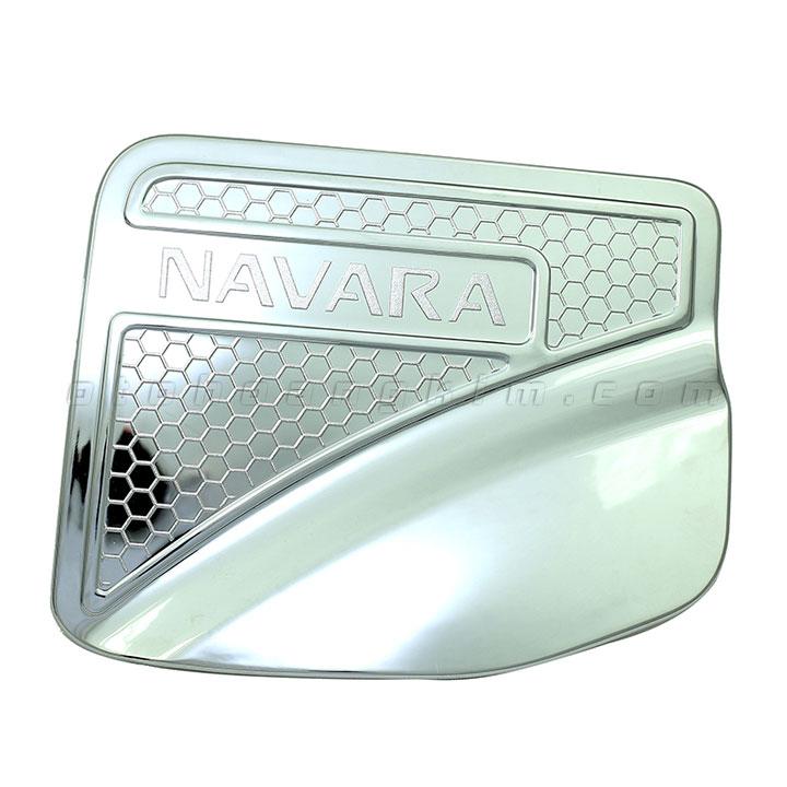 Nắp xăng Navara [2016 - 2019] mạ xi