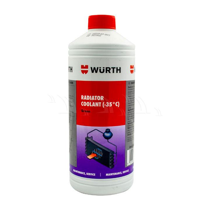 Dung Dịch Bảo Dưỡng Wurth giải nhiệt xanh 1 lít