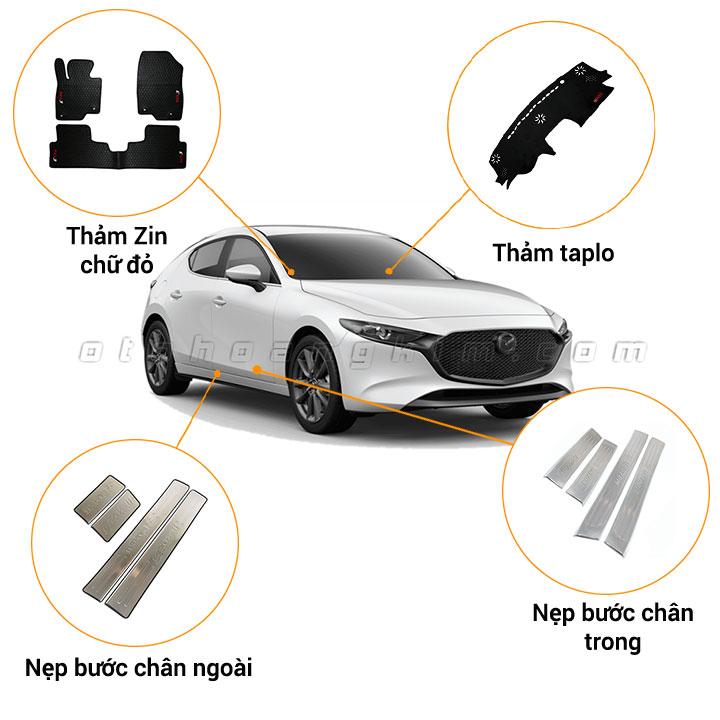 12 phụ kiện xe Mazda 3 [2015-2019]